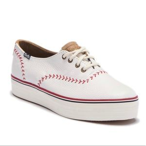 Keds triple pennant sneakers size 8